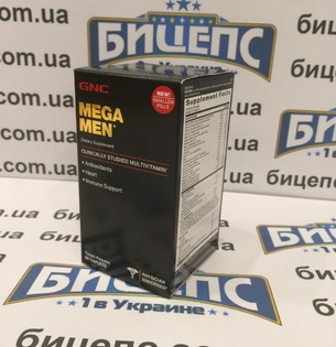 GNC Mega Men (90 caps)